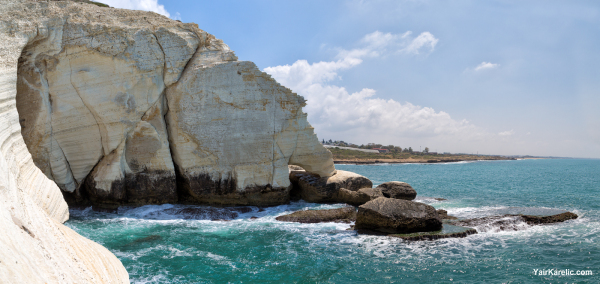 The Elephant Leg of Rosh Hanikra, Israel