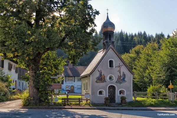 Church in Klais, Garmisch-Partenkirchen