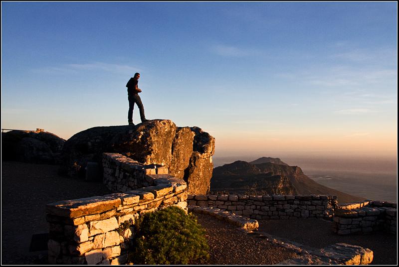 I saw you! (aka On top of the world - ii)