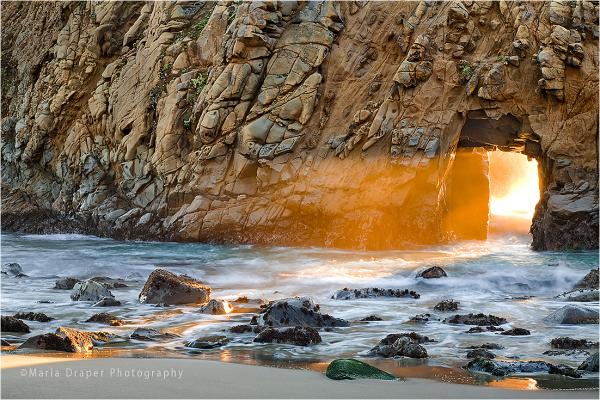 Pfeiffer Beach Arch, Big Sur, California