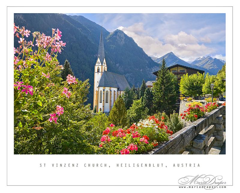 St. Vinzenz Church, Heiligenblut Village, Austria