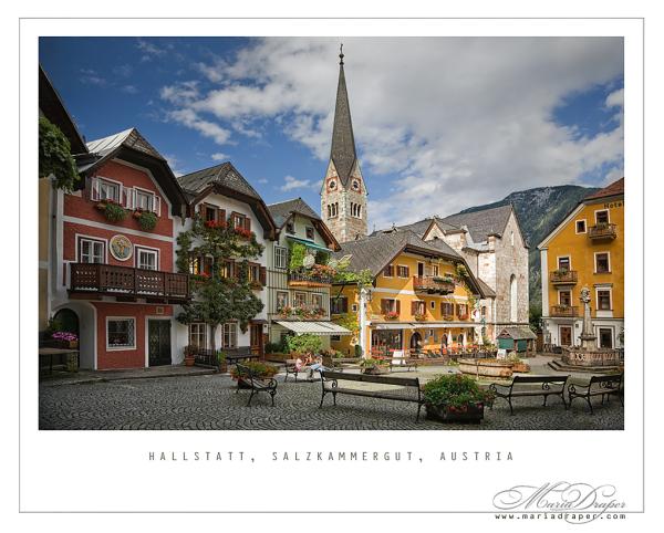 Hallstatt, Salzkammergut, Austria ♥
