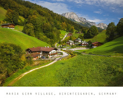 Maria Gern Village, Berchtesgaden, Germany