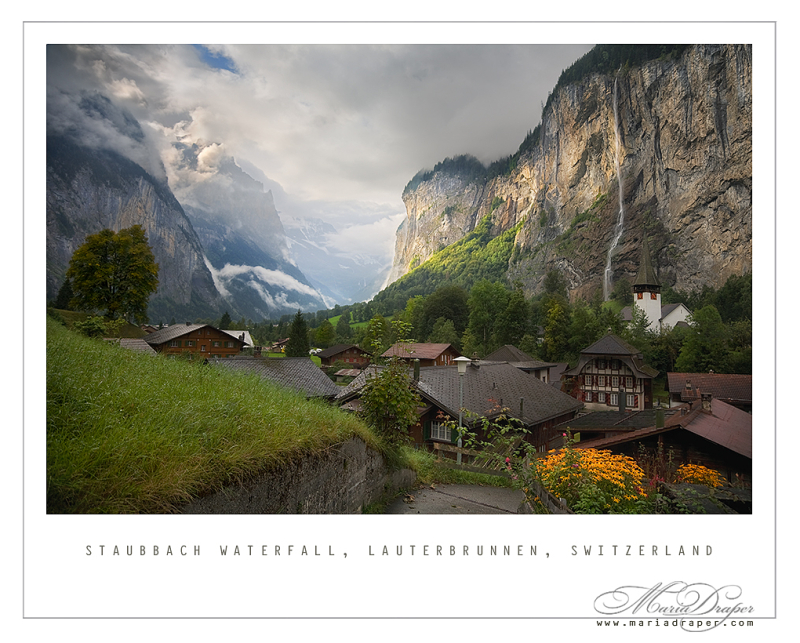 Staubbach Waterfall, Lauterbrunnen, Switzerland