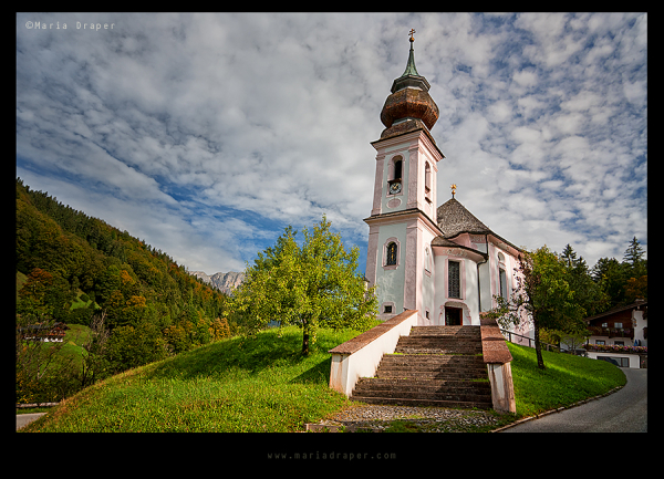 Maria Gern Church, Berchtesgaden, Bavaria, Germany