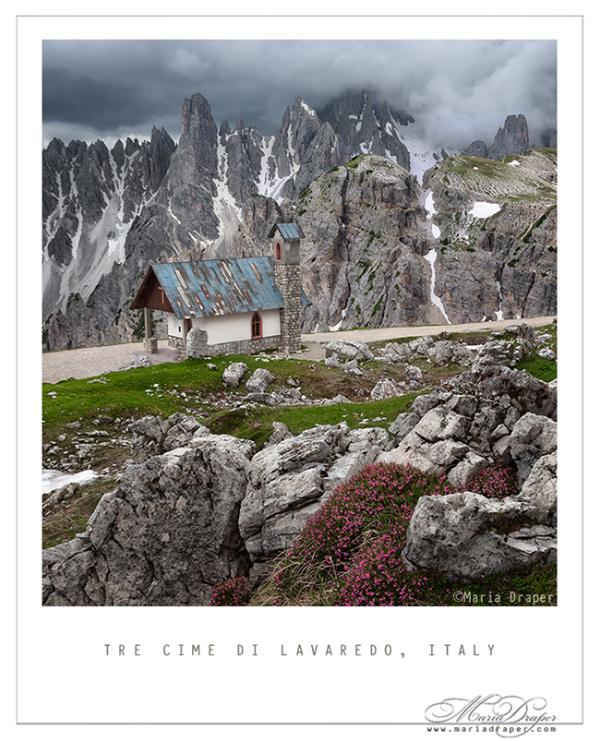 Alpine Chapel, Tre Cime di Lavaredo, Italy