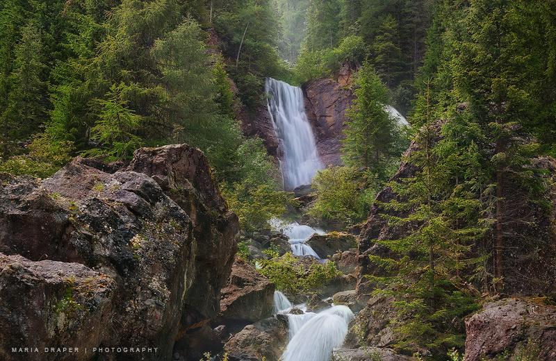 Padola Waterfalls, Italy