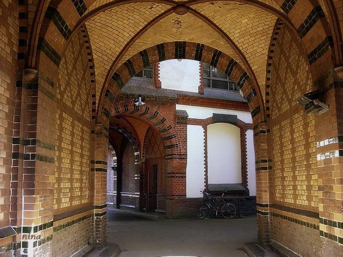 arched gateway