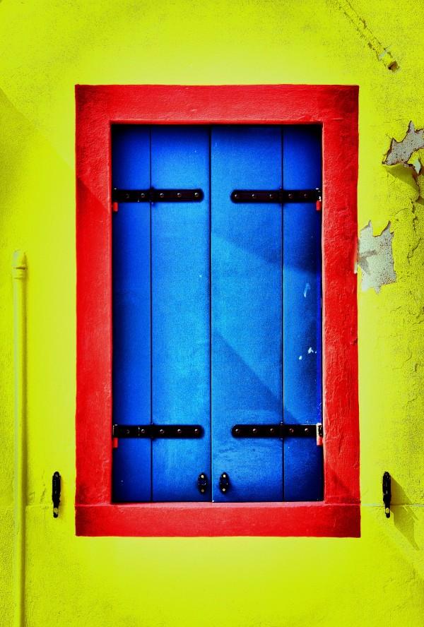 Yellow, Red & Blue (Burano)