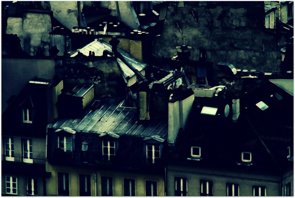 Paris, Asleep And Under The Moonlight
