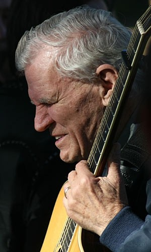 Doc Watson at Hardly Strictly Bluegrass 2007