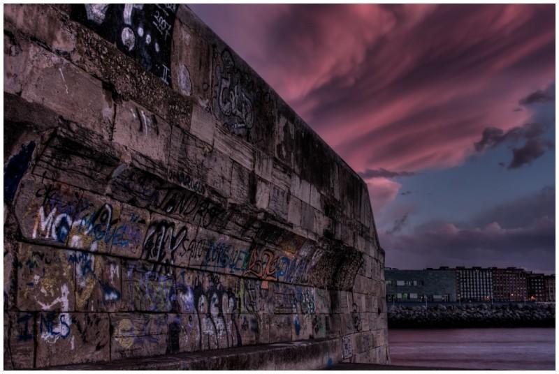 Graffiti in Gijon