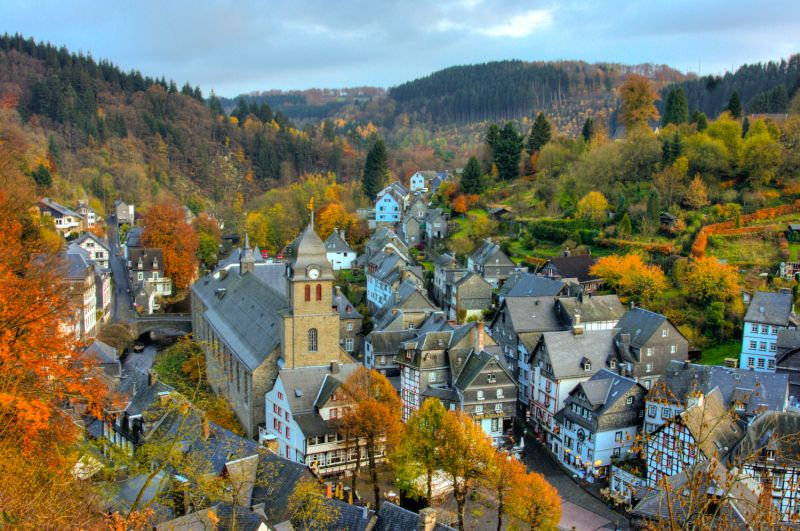 Monschau in Autumn