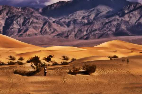 Alone in Death Valley