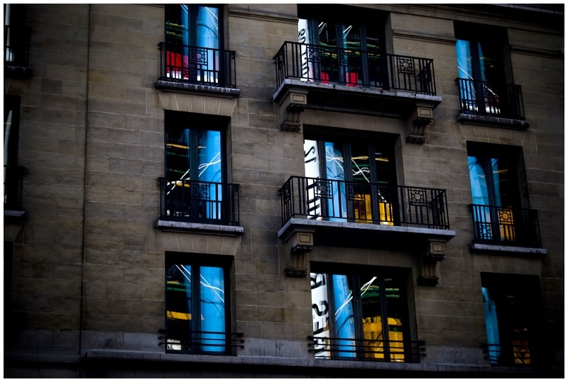 beaubourg reflet reflection
