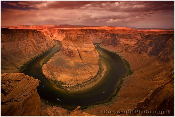 Approaching Storm Over Horseshoe Bend