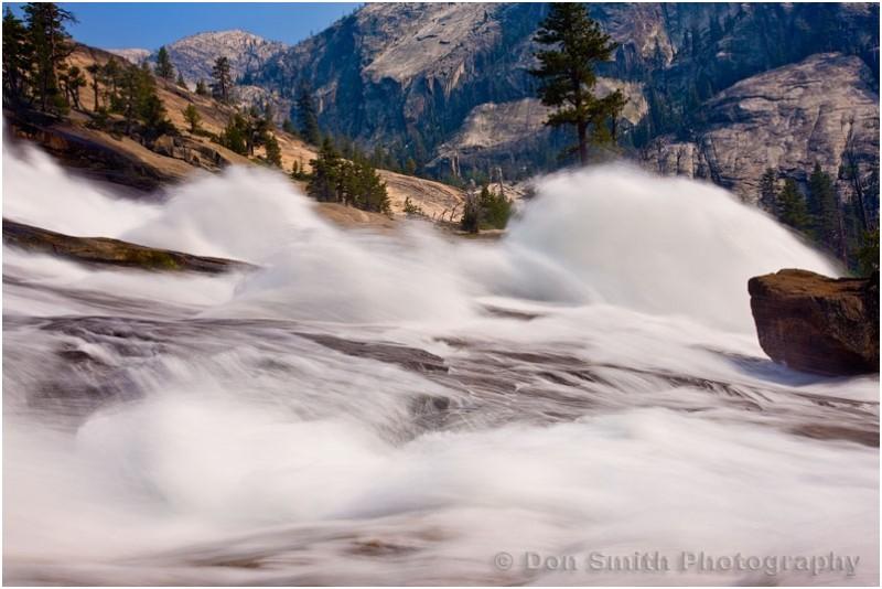 Waterwheel Falls in Yosemite National Park