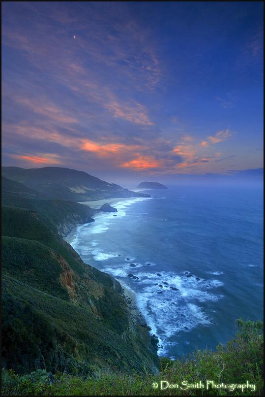 Dawn Sky at Big Sur
