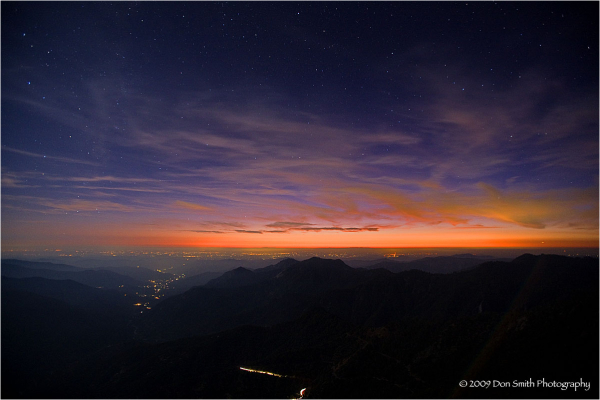A view from Moro Rock, Sequoia NP.