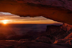 Morning's Awakening, Mesa Arch, Canyonlands