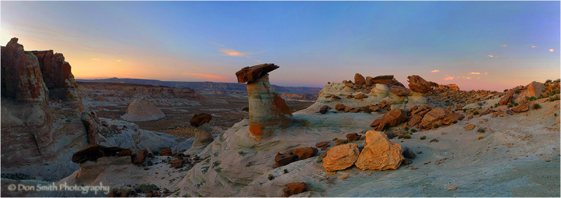 Dusk at Stud Horse Point, Arizona