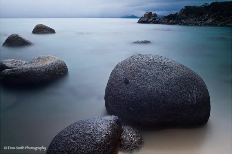 Mystical waters at Secret Harbor, Lake Tahoe, NV.