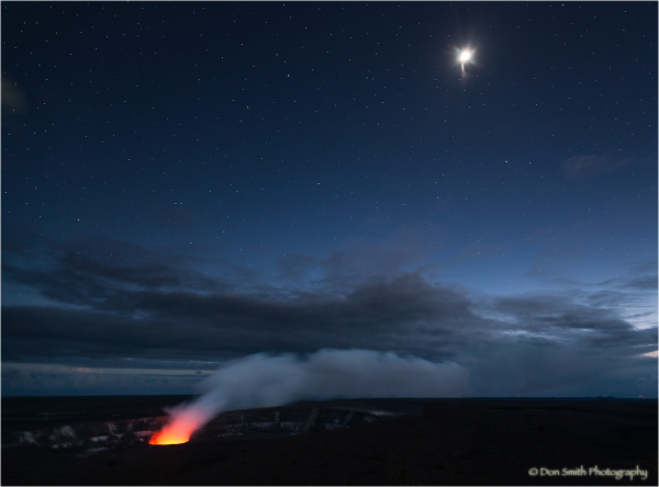 Peering into Earth's Core, Halema' uma' u Crater