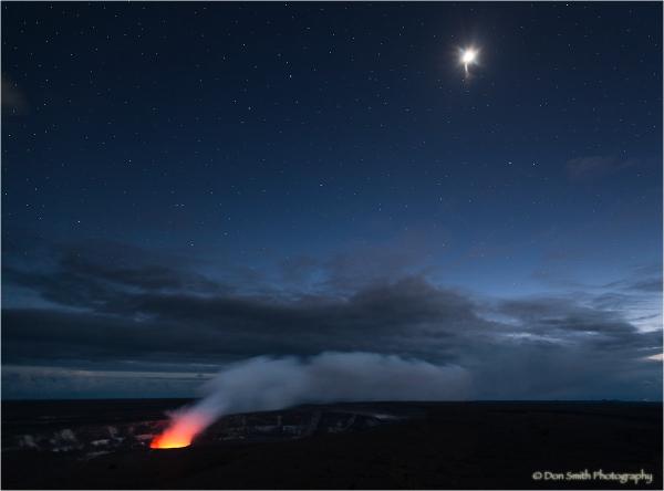 Peering into Earth's Core, Halema' uma' u Crater