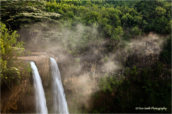Wailua Falls, Kauai, Hawaii.