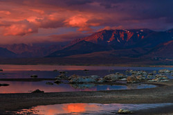 Morning Storm Light, Black Point, Mono Lake