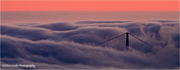 Through the Mist, North Tower, Golden Gate Bridge