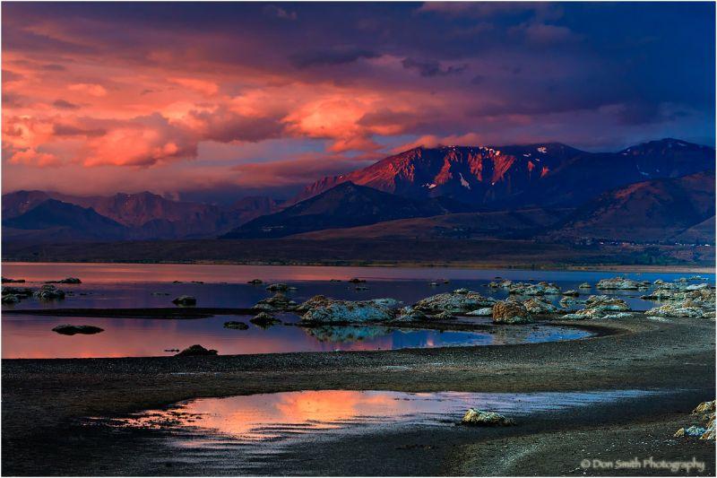 Black Point, Mono Lake, California.