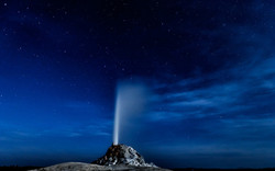 White Cone Geyser, Yellowstone National Park