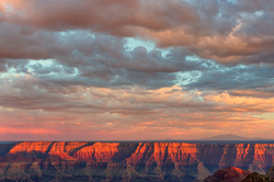 Storm Light, Walhalla Overlook, Grand Canyon