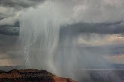 Nature's Fury, Pt. Wooley, Grand Canyon North Rim