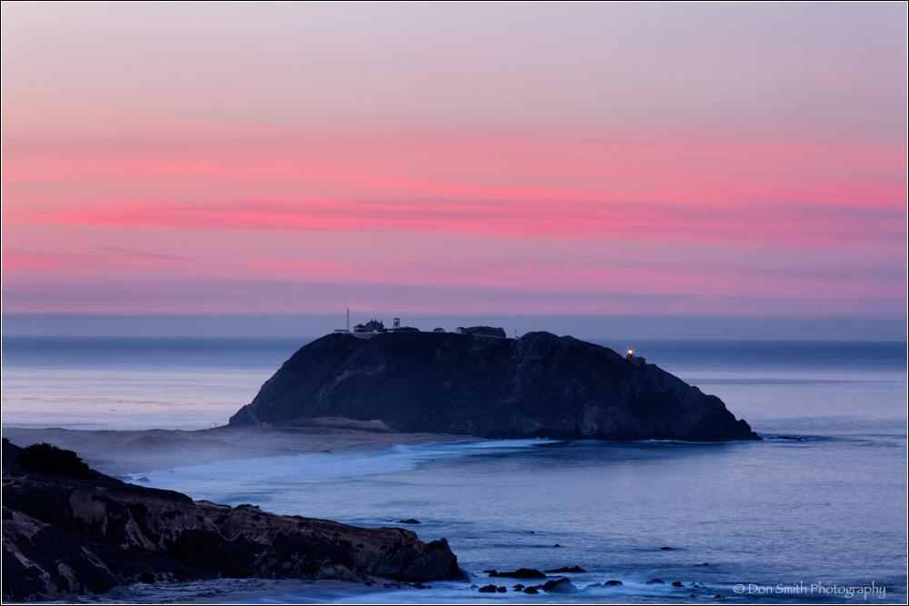 Dawn Light - Point Sur Light Station - Big Sur