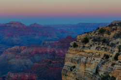 Dusk Moonrise, Grand Canyon National Park