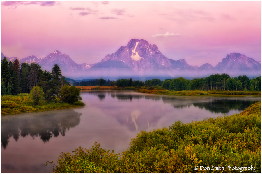 Grand Teton National Park, Wyoming, fall color