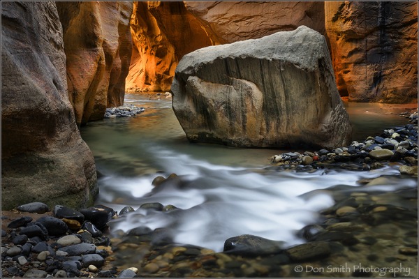 Narrow, Zion national park, utah