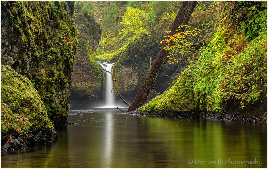 Columbia River Gorge, Punchbowl Falls, Oregon, ref