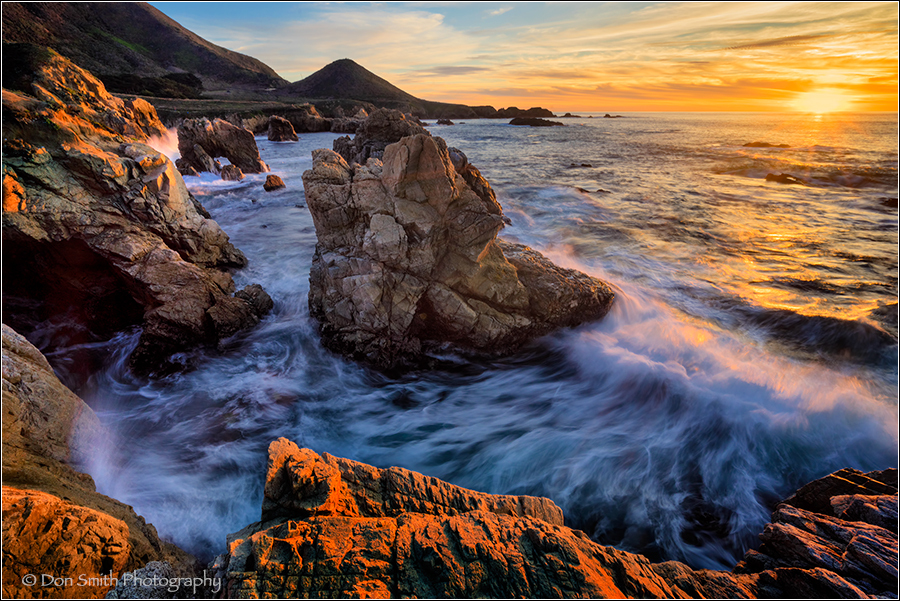 Winter Sunset, Garrapata State Park, Big Sur Coast