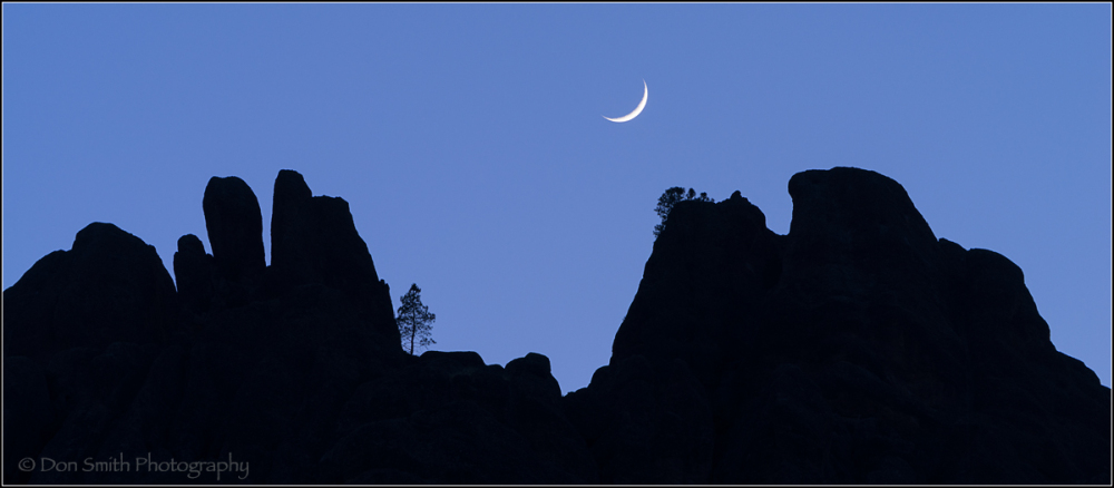 Setting Crescent, Pinnacles National Park