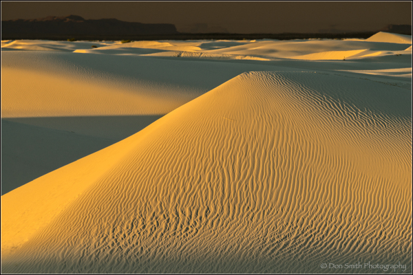 White Sands, Photo Workshop, Large Dunes