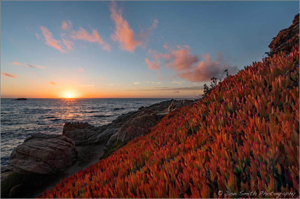 Big Sur Sunset, Garrapata State Park