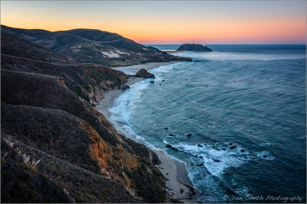 Dawn at Pt. Sur Lightstation :: Big Sur Coast