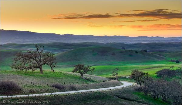 Quien Sabe Road, San Benito County, California
