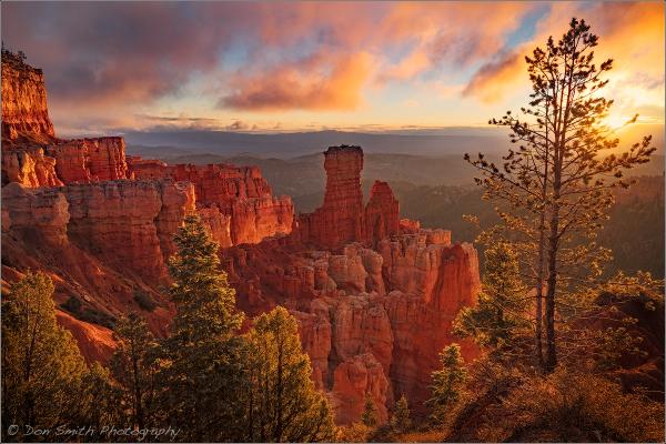 Agua Canyon Sunriuse, Bryce Canyon NP