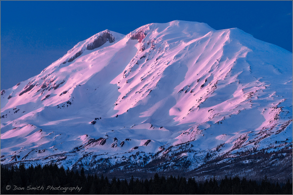 Alpenglow on Mt. Adams