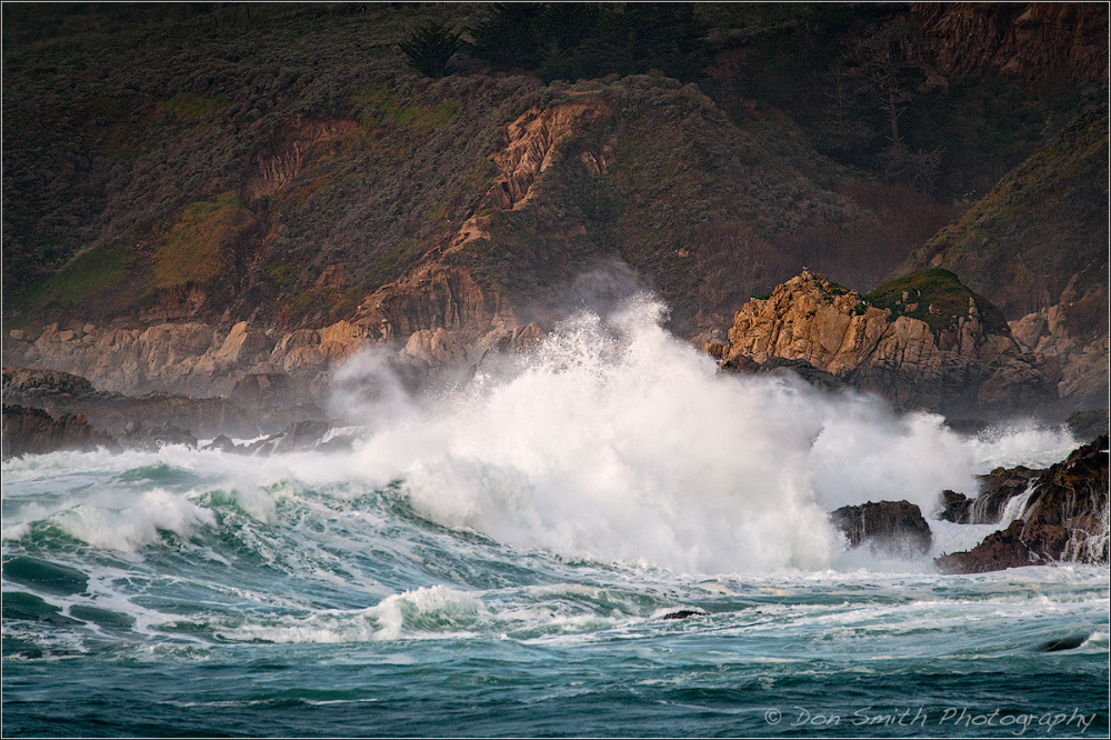 Big Sur El Nino Waves