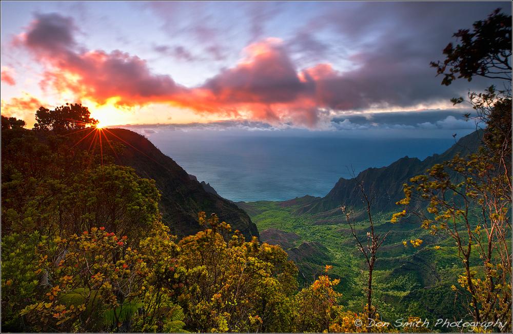 Kauai Photo Workshop, Pu'u O' Kila Lookout